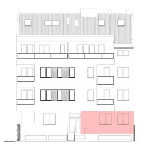 Polis Invest - Preradoviceva 61, Novi Sad - stan 1 - Položaj u zgradi