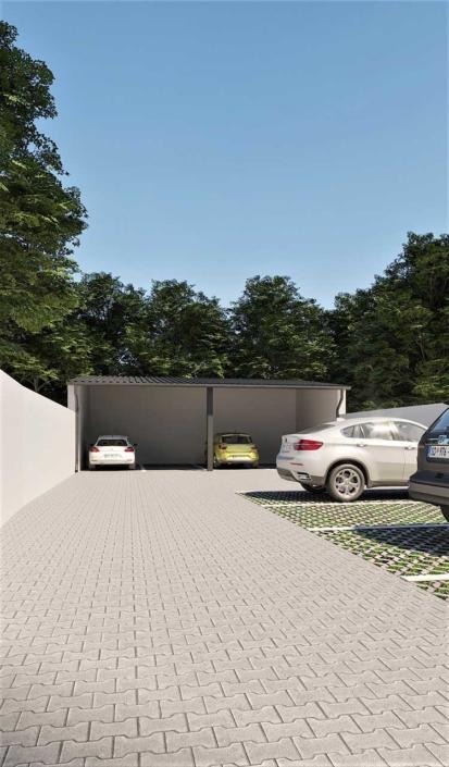 Polis Invest - Jug Bogdana 7, Novi Sad - Dvorište sa parkingom